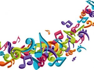 Music Notes Colorful