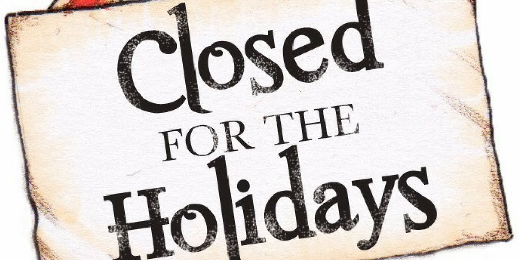 Monroe Food Pantry will be closed December 21 through January 7.